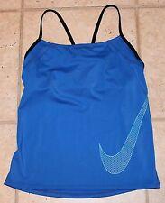 Nike Womens Size Small Bulit in Bra Spaghetti Strap Athletic Top