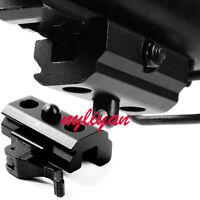 Quick Detach 20mm Picatinny Weaver Rails QD Mount Sling Adapter Bipod Handguard