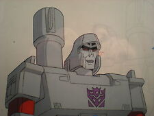 TRANSFORMERS G1 - MEGATRON - Cel + Pencils - Original 1984 TV Production Art 3