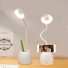 USB LED Desk Light Dimmable Bedside Reading Lamp...