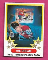 1991-92 OHL NO # THE DREAM (ERIC LINDROS ) NRMT-MT CARD (INV# C0665)