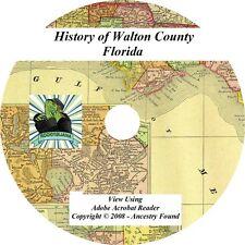 1911 History & Genealogy of Walton County Florida FL