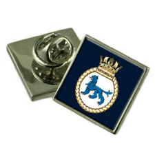 Royal Navy HMS Northumberland Sterling Lapel Pin Badge