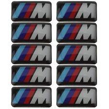 Oz Stock 10 BMW M Tec Sticker Badge Emblem M3 Sport Alloy Steering wheel decal