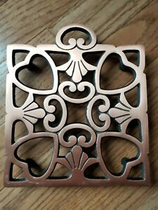 The Pampered Chef No. 2939 Copper Square Trivet 2008 Round Up From The Heart