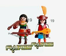 PLAYMOBIL  70565 70566 MEDIEVAL MUSICIANS SERIE 19 NEW SEALED   FOR COLLECTORS