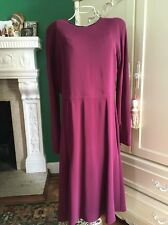 GUCCI New sz 48 - 12 US Auth Designer Cocktail Party Evening 100% Silk Dress