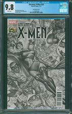 UNCANNY X-MEN #29 Alex Ross 1:300 B&W Sketch Variant CGC 9.8