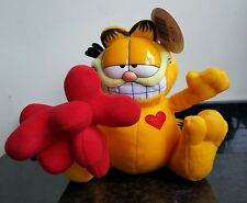 "Loving Gift - 8"" Garfield Holding a bunch of Hearts Soft Toy - LOVE PRESENT"