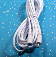 5M 16ft IP CCTV Camera DC Power Adapter Extension Cable Cord Foscam Apexis White