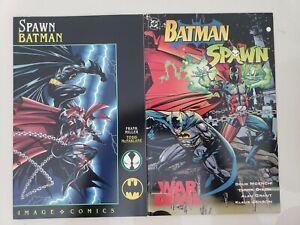 BATMAN SPAWN SET OF 2 GRAPHIC NOVELS! WAR DEVIL! FRANK MILLER! TODD McFARLANE!