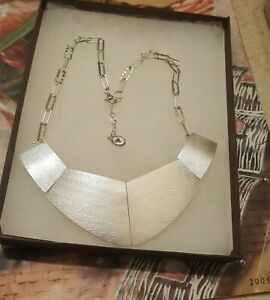 """Silpada """"Saturday Knight """"Silver Necklace N3088 Gorgeous.  Retail $199.00"""