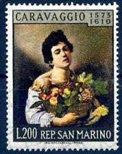 SAN MARINO 1960 -  CARAVAGGIO   NUOVO  **