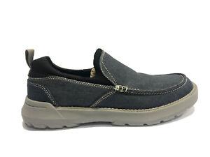 Skechers, Men's Memory Foam Slip On Casual Shoes, Blue, Size 10M