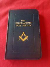Masonic THE FREEMASON'S VADE MECUM 1920