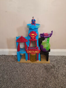 Imaginext Superman Daily Planet Playset and Figure