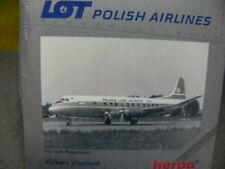 1/500 Herpa Vickers Viscount LOT Polish Airlines 512008
