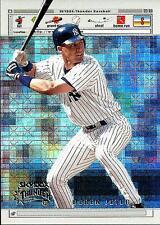 """Derek Jeter 1999 99 Skybox Thunder """"www,Batterz.com"""" #WB5 New York Yankees"""