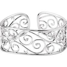 diamante Bracciale a polsino in argento sterling (1/3 ct. TW
