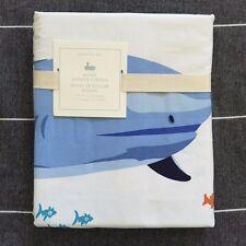 Pottery Barn Kids Shark shower curtain only fish ocean sea creature