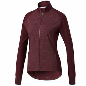 adidas Damen Jacke Supernova Storm Laufjacke Running Jacket Climalite maroon