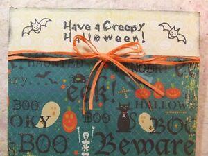 Handmade HALLOWEEN Card Using Stampin Up! Fang Tastic Set  Bats Orange Raffia