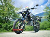 Derbi Extreme Camo Supermoto Moped 50 ccm Piaggio  2Taker 2 T / Netto  € 2249,-