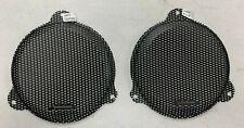"Rockford Fosgate New Speaker Grills 6.5""  Harley Davidson Batwing Fairing"