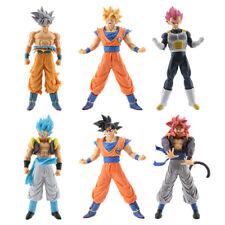 6 pcs Dragon Ball Z Figures Set Goku Vegeta Super Saiyan Blue God Ultra Instinct