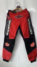 Vintage Motocross FOX 360 HONDA The Red Riders Pants Size 30