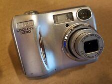Nikon Coolpix 3200 3.2MP Digital Camera 3x Optical E3200 2-AA Batteries #3594008
