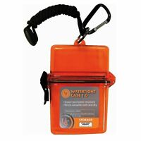 Ultimate Survival Technologies Watertight Container 1.0 Orange Tinder/Match Case