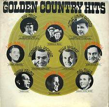 """""""GOLDEN COUNTRY HITS""""  lp compilation USA RAY PRICE BILLY WALKER MEL TILLIS"""