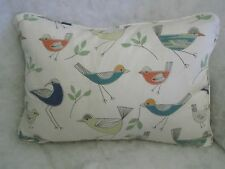 "STICK BIRDS BY JOHN LEWIS OBLONG CUSHION 18"" X 12 ""(46 CM X 30 CM) ZIP OFF COVER"