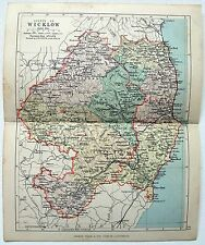 Ireland Wicklow Antique Original Antique Europe Maps Atlases Ebay