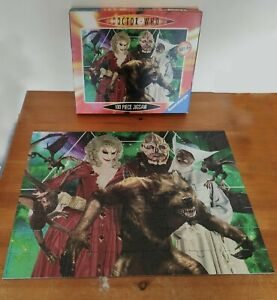Ravensburger 100 Extra Large piece jigsaw puzzle Dr Who Villains - Complete