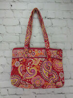"Vera Bradley ""RASPBERRY FIZZ"" Retired BETSY Handbag Tote Bag Purse 10089-003"