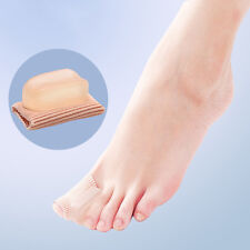 Silicone Soft Gel Tube Toe Separators Spacers Bunion Corrector Pain Relief Guft