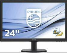 "PHILIPS MONITOR 24"" LED FULL HD 1MS MULTIMEDIALE VGA DVI HDMI 243V5LHSB GAMING"