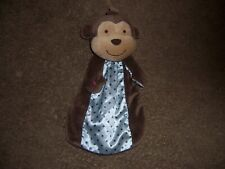 Just one you carters monkey security blanket lovely rattle