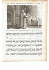"""1825 Vite dei Santi: L'invenzione di Santo Stefano Protomartire """"Saint Etienne"""""""