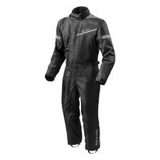 Pantaloni neri impermeabili per motociclista Taglia XXL