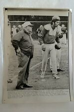 1969 AFL FOOTBALL B&W WIRE PRACTICE​ PHOTO JETS JOE NAMATH SUPER BOWL III RARE