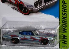 2014 HOT WHEELS '70 Buick GSX Col.#215/250 HW WORKSHOP with Flames 1970