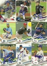 2017 Topps Pro Debut JORDAN STEPHENS Signed Card auto WHITE SOX autograph RC