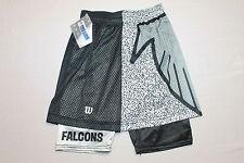 S * Deadstock vtg 90s 1992 Pro Line Wilson shorts * Atlanta Falcons * Ss60
