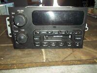 1996-2005 BUICK CENTURY LESABRE PARK AVE REGAL AM FM RADIO CASSETTE FACTORY OEM