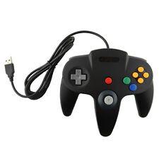 USB Game Controller Joypad Joystick Gaming For Nintendo N64 PC Mac Black