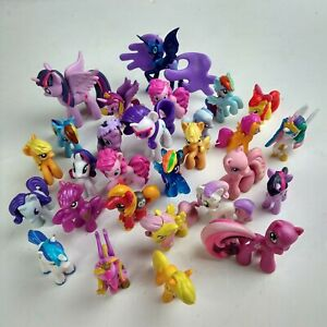 28x Genuine MY LITTLE PONY Hasbro Figures Mixed Various Colour/Year Toy Bundle