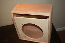 rawcabs Mahogany Vibro Champ 1X12  empty custom built combo cabinet